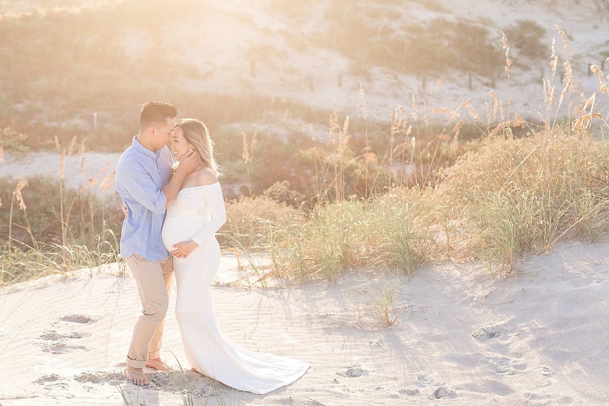 florida beach maternity photo