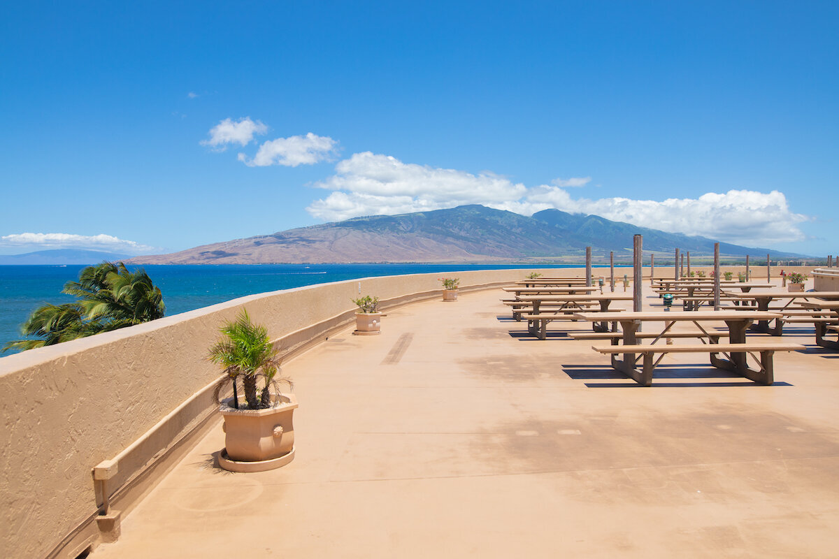 Menehune Shores real estate photography - roof top deck 2