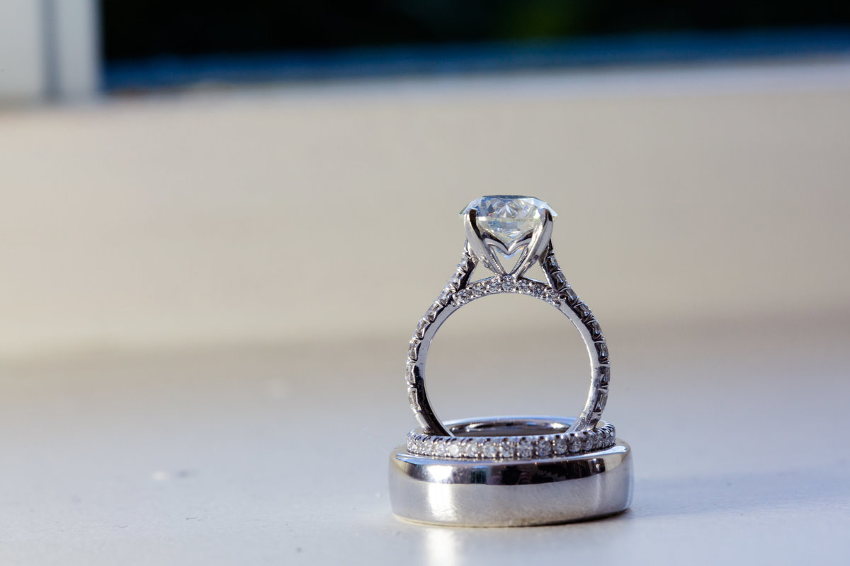 Wedding rings by Brittany Barclay Photography
