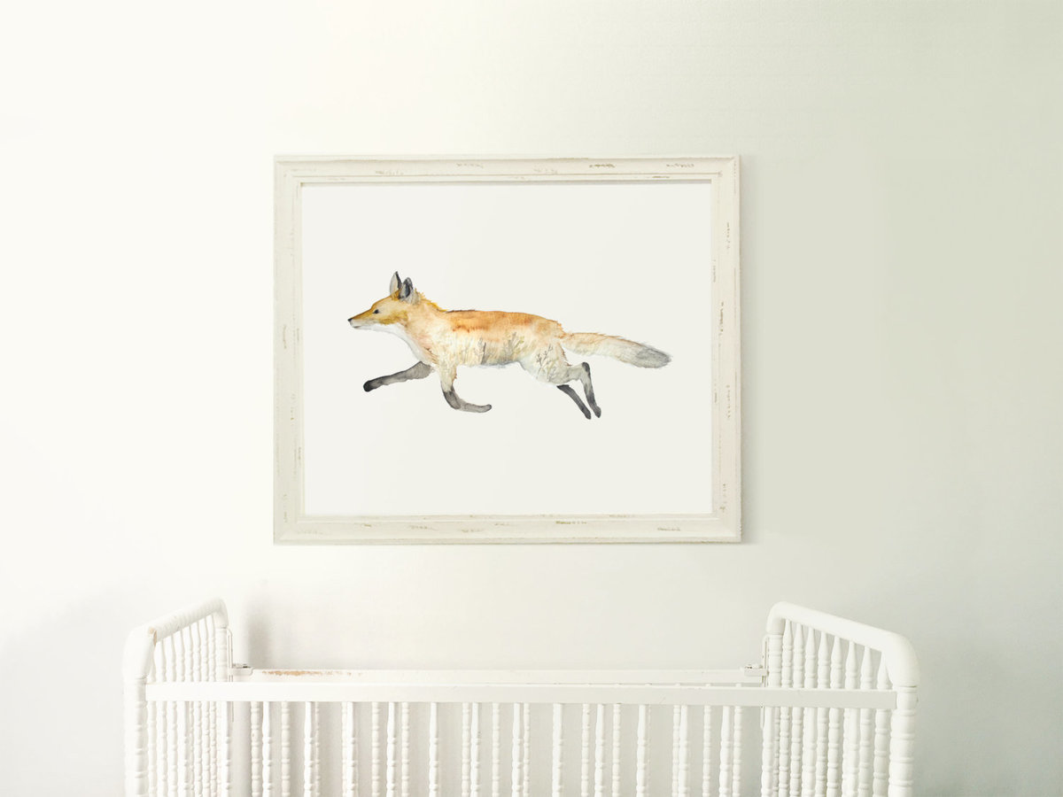 Double_Exposure_Fox_Profile_-_Field_Sunset_Printable_Artwork_-_Animal_Nursery_-_Watercolor_-_Woodlan-490878944-_1