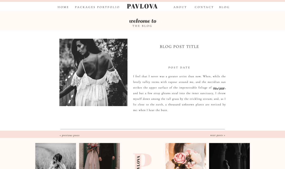 Pavlova Showit Website Template desktop_6