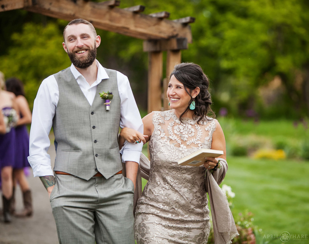 Chatfield Farms Wedding Denver Botanic Gardens in Colorado