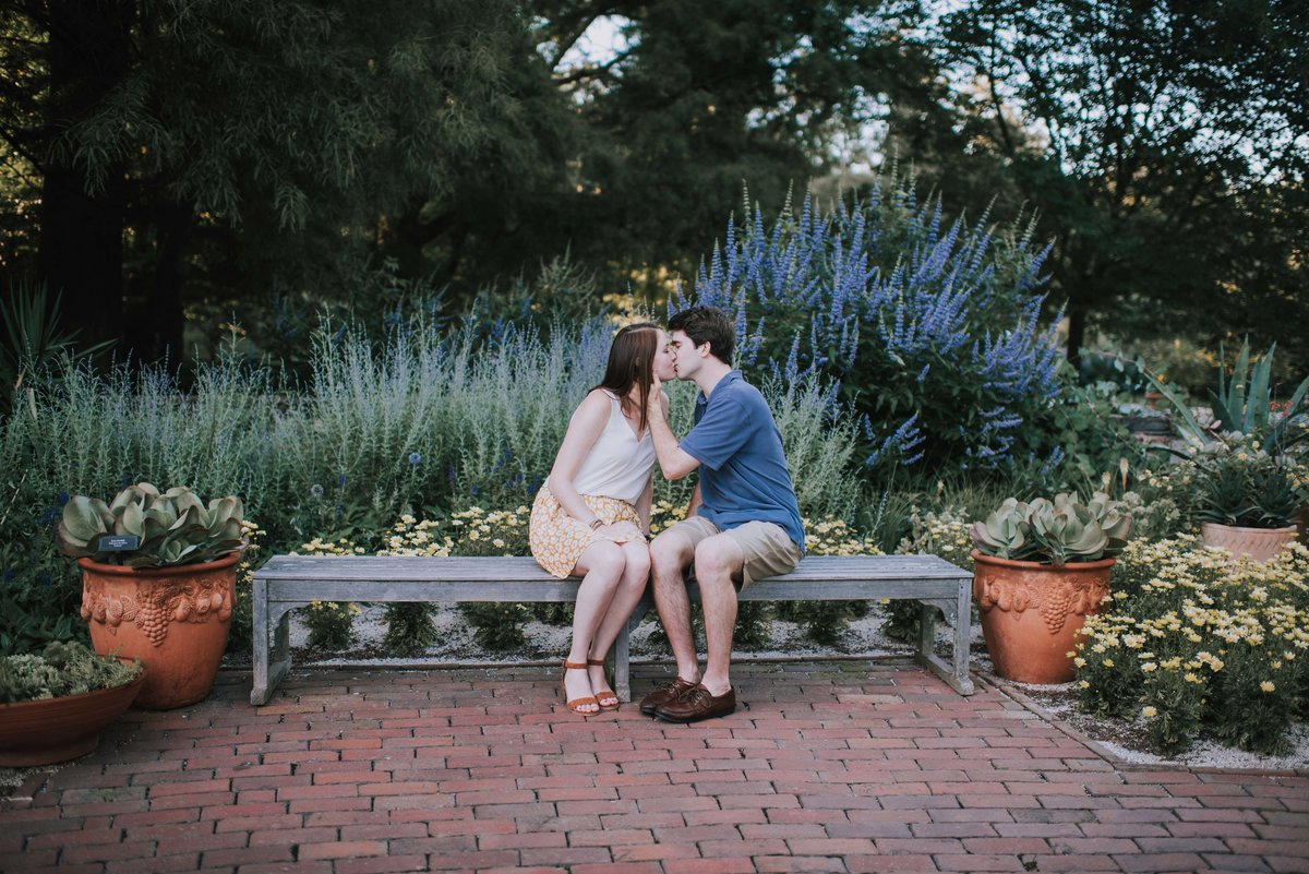 Longwood Gardens Engagement MLE Pictures-8