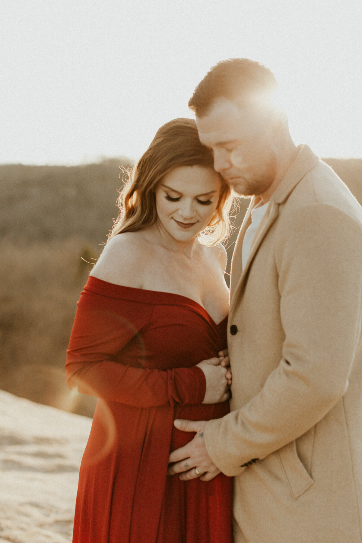 Red-River-Gorge-Kentucky-Adventurous-Couples-Session_Maternity-Photos_Kentucky-Photographer_Anna-Ray-Photography-106