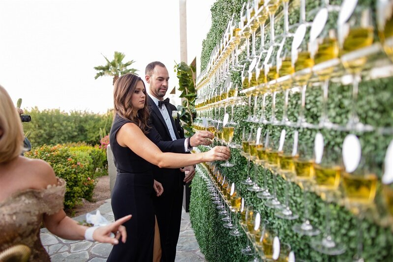 sanctuary-camelback-resort-wedding-champagne-escort-card-wall