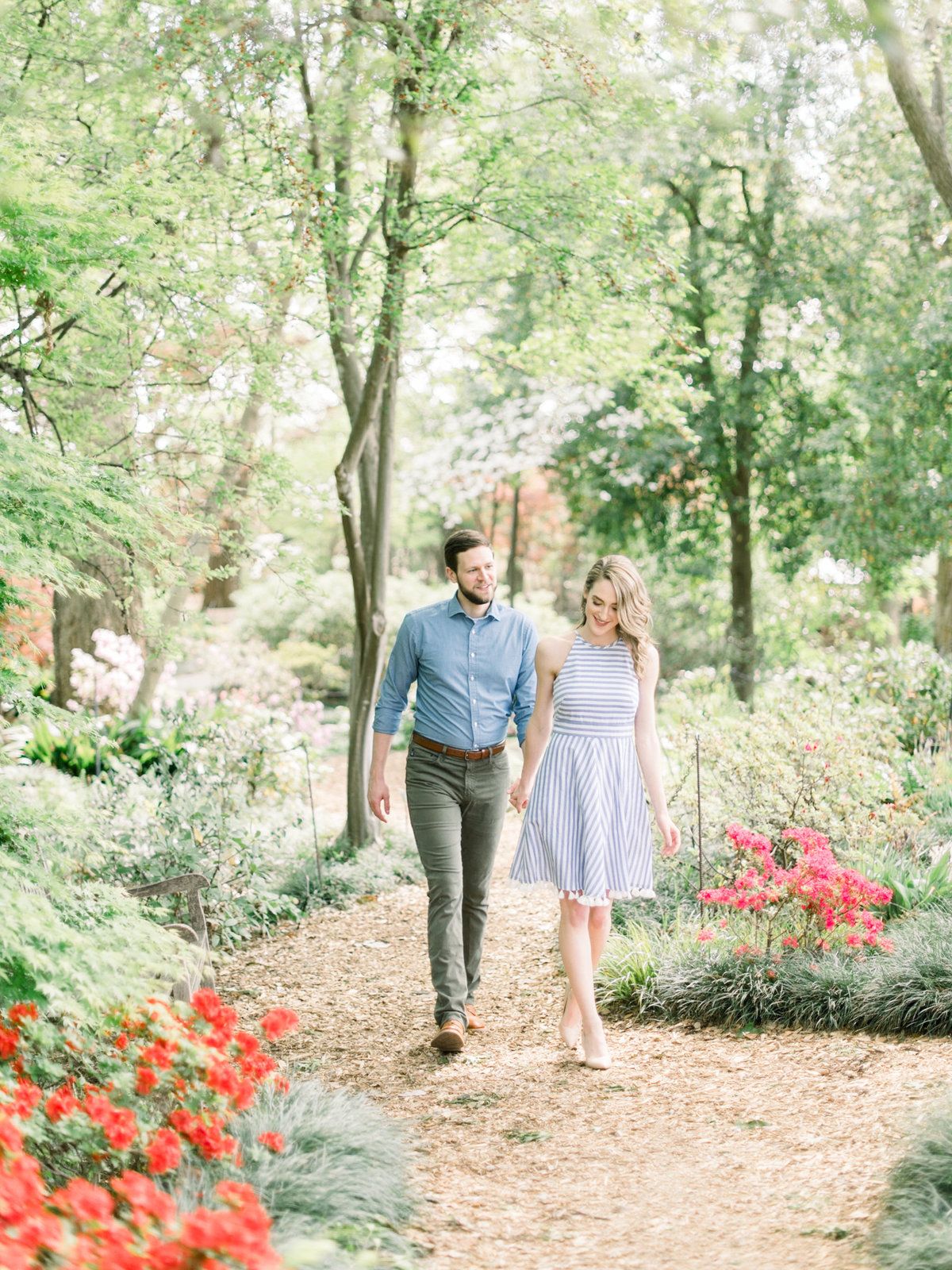 Courtney Hanson Photography - Dallas Spring Engagement Photos at Dallas Arboretum-2592