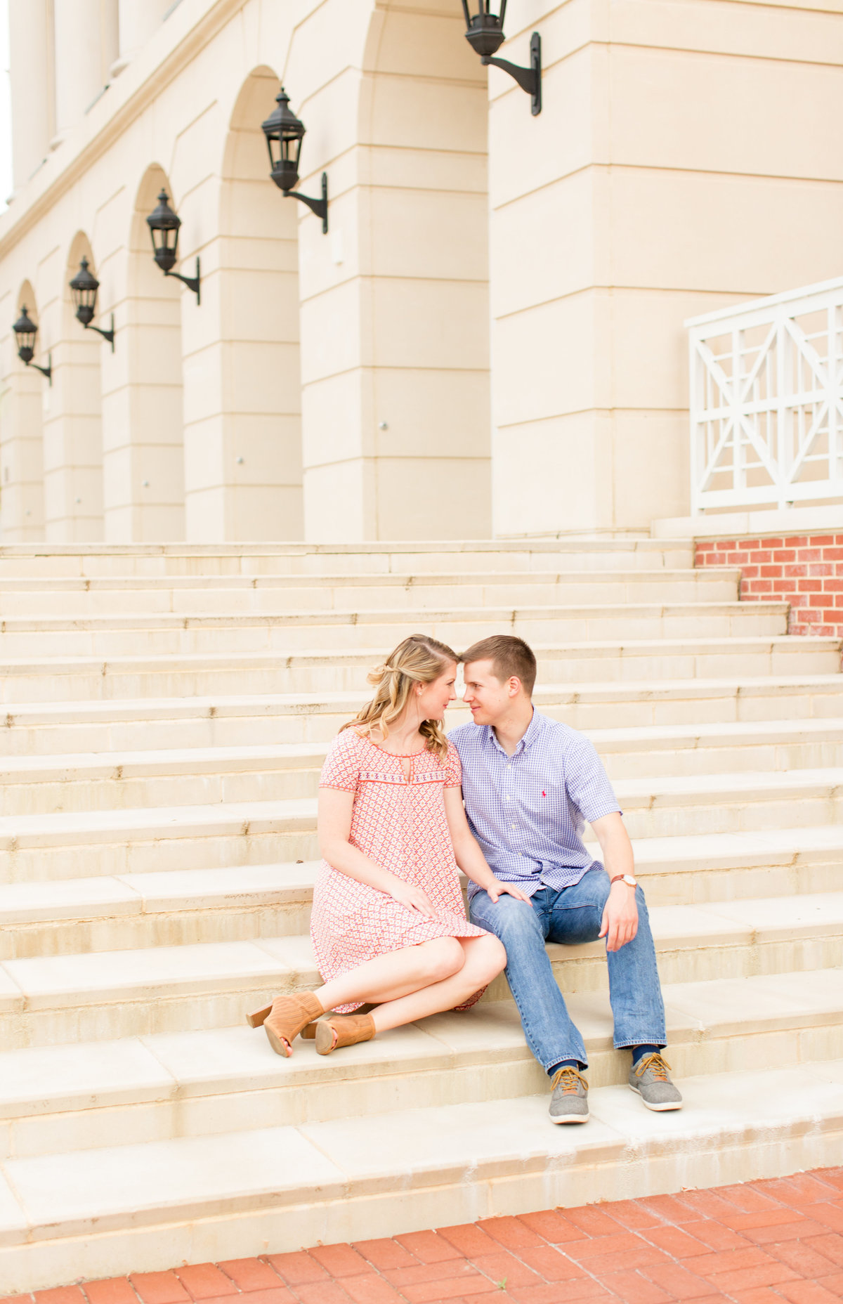 UMW engagement by Marie Hamilton Photography