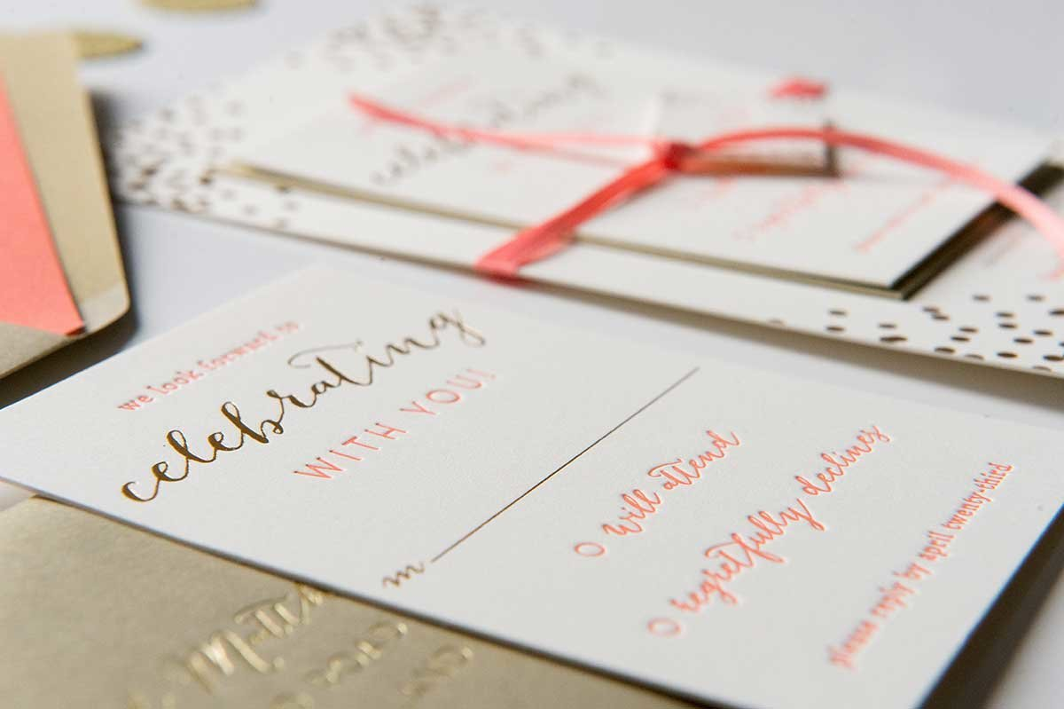 StephanieMatt-Letterpress-GoldFoil-ReplyCard
