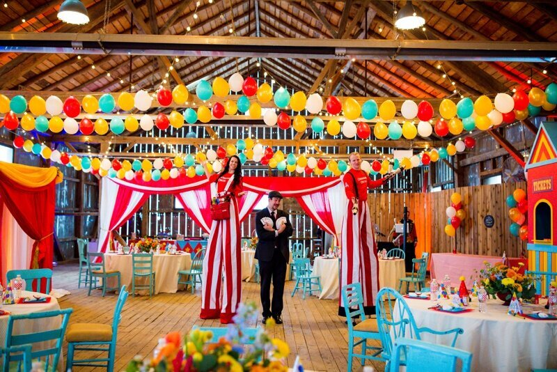 Circus Themed 1st Birthday Indianapolis Party Planner_0059
