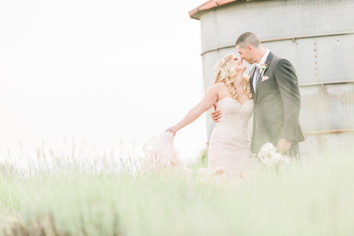 Lavender Field Wedding Pageo Farm