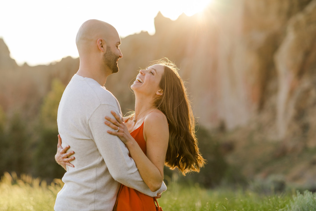 Smith Rock Engagement Session - Bend Oregon-77