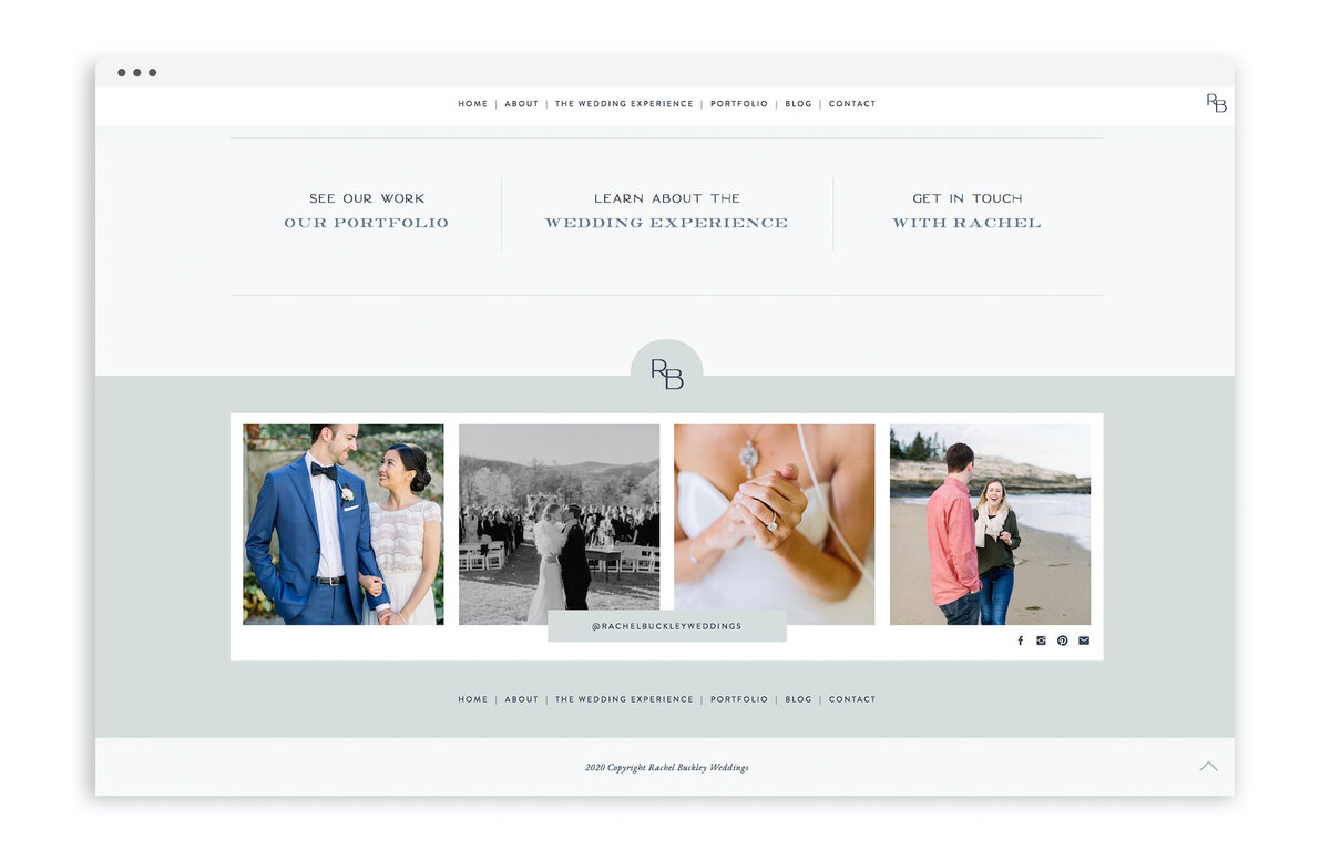 Rachel Buckley Wedding Photographer - Custom Brand Logo and Showit Website Design by With Grace and Gold - Showit Designer, Designers, Theme, Themes, Template, Templates, Best -37