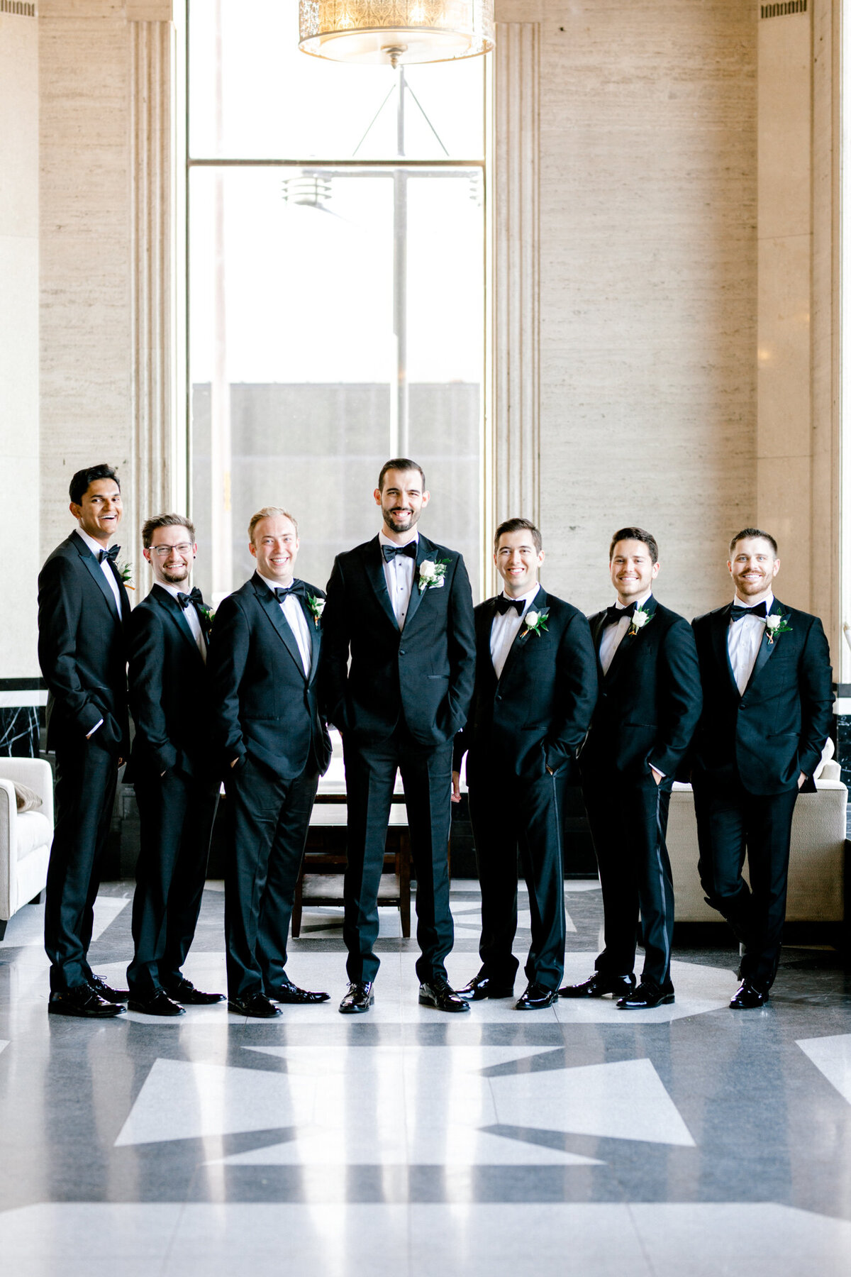 Hope & Zack's Wedding at the Carlisle Room | Dallas Wedding Photographer | Sami Kathryn Photography-43