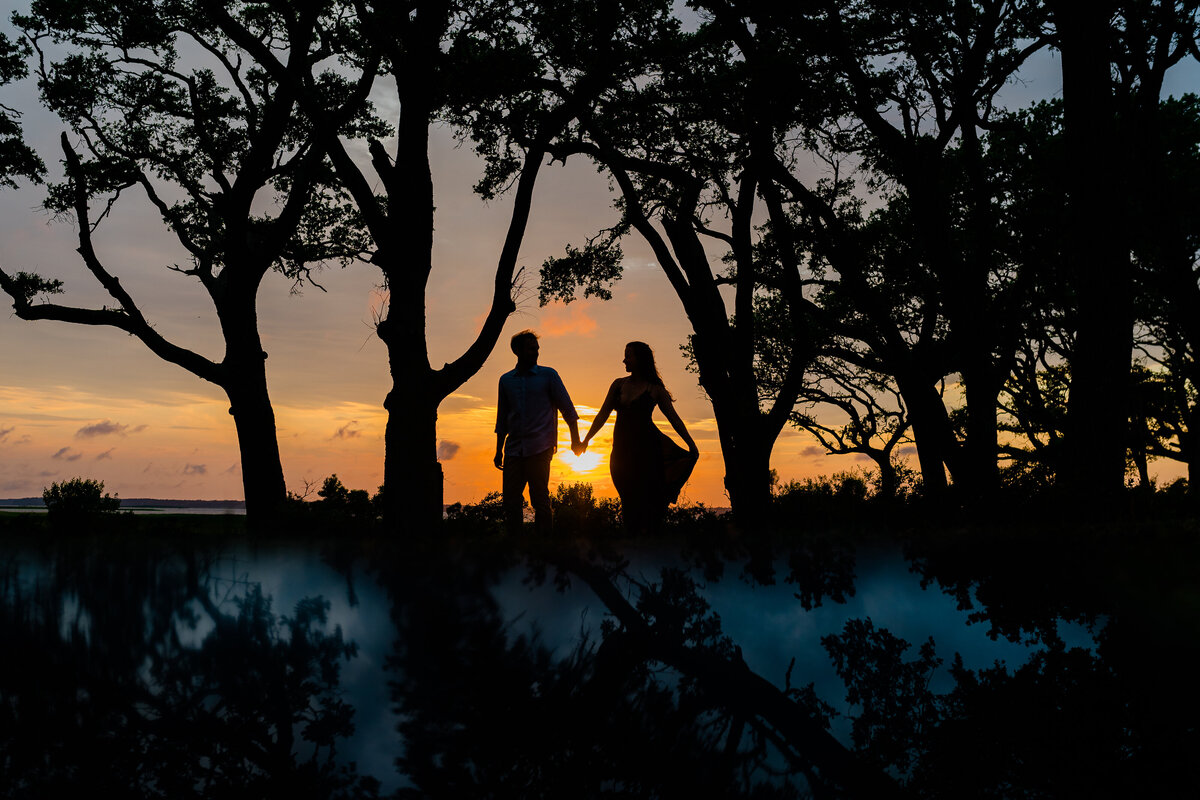 Fort Fisher Engagement Photos