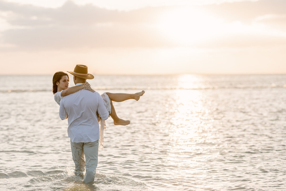 Beach Elopement in Saint Petersburg, Florida 43