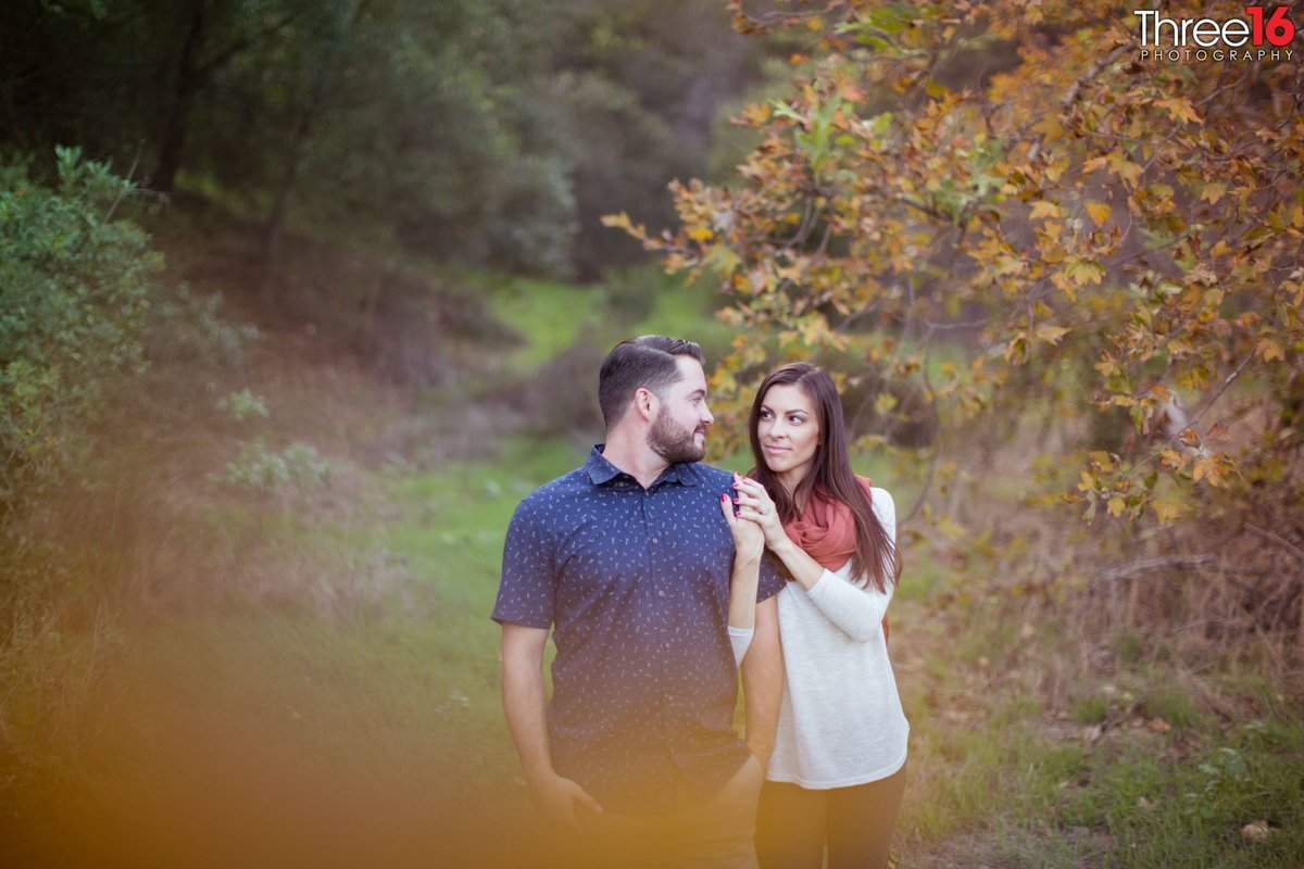 Laguna Coast Wilderness Park Engagement Photos Laguna Beach Orange County Wedding_2