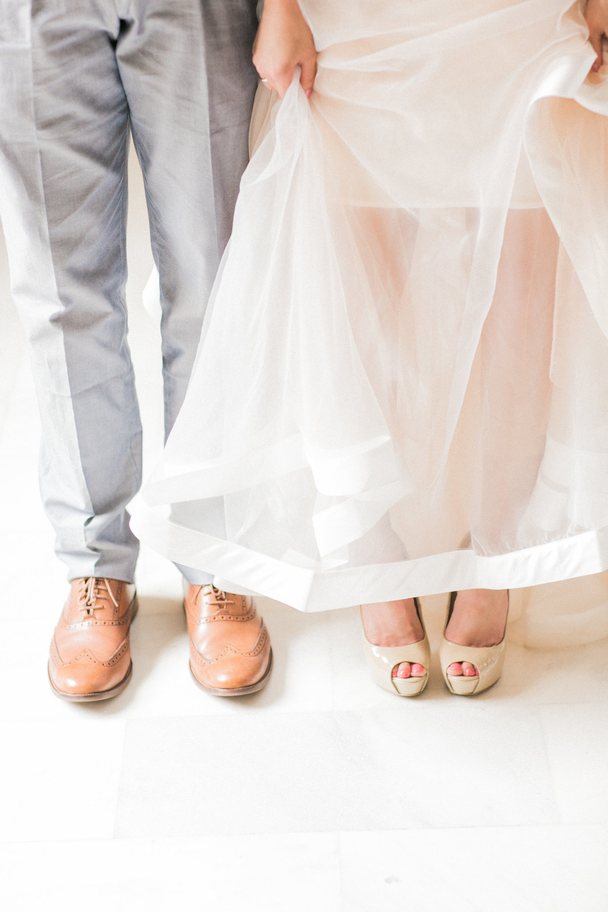 Chic Wedding Shoes Photo