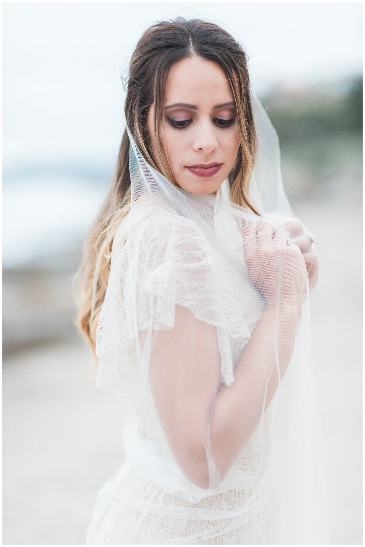 san clemente beach wedding elopement whimsical dreamy soft light socal photo049