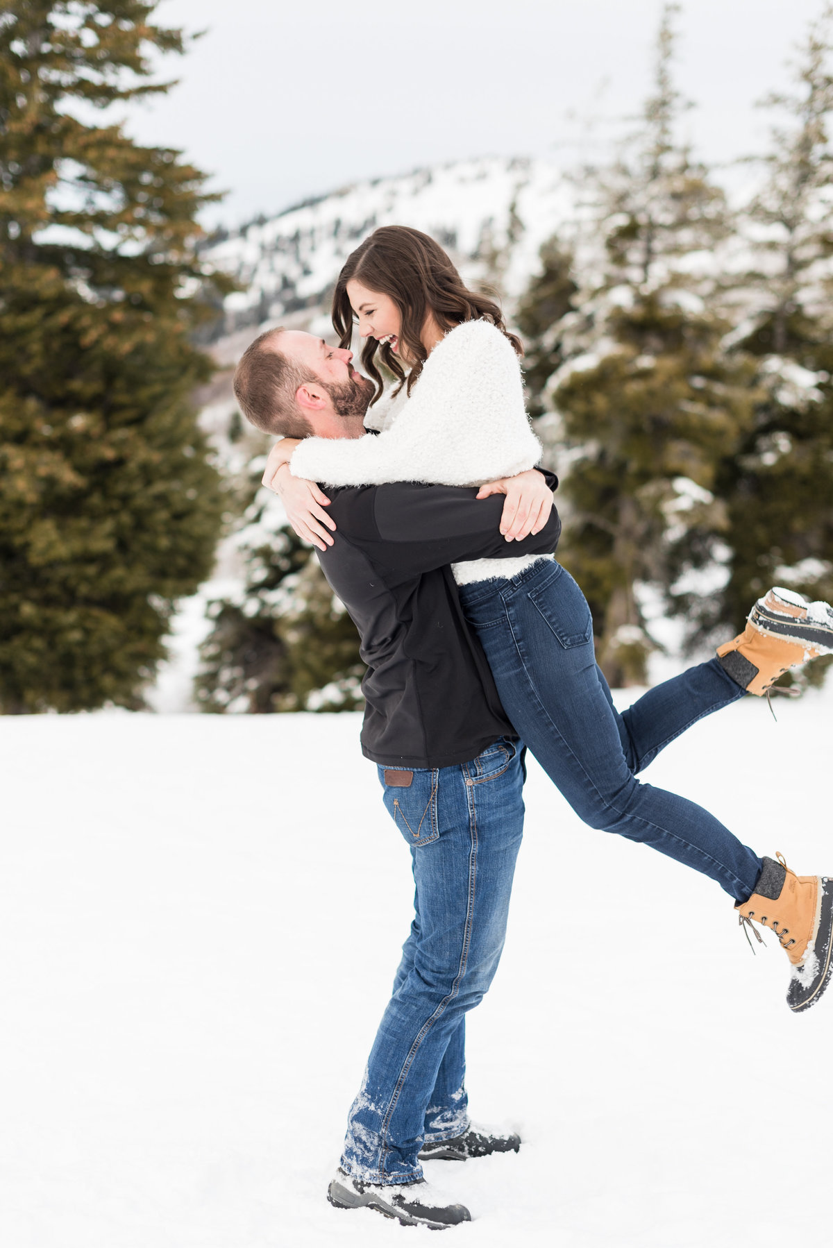 A  Winter Bogus Basin Engagement Shoot 019