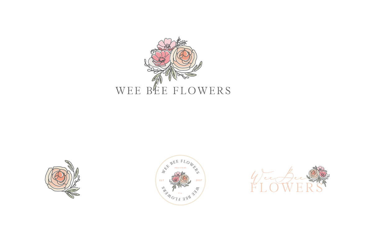 Alyssa Joy & Co. Brand & Web Designer for Creatives & Small Businesses || Wee Bee Flowers