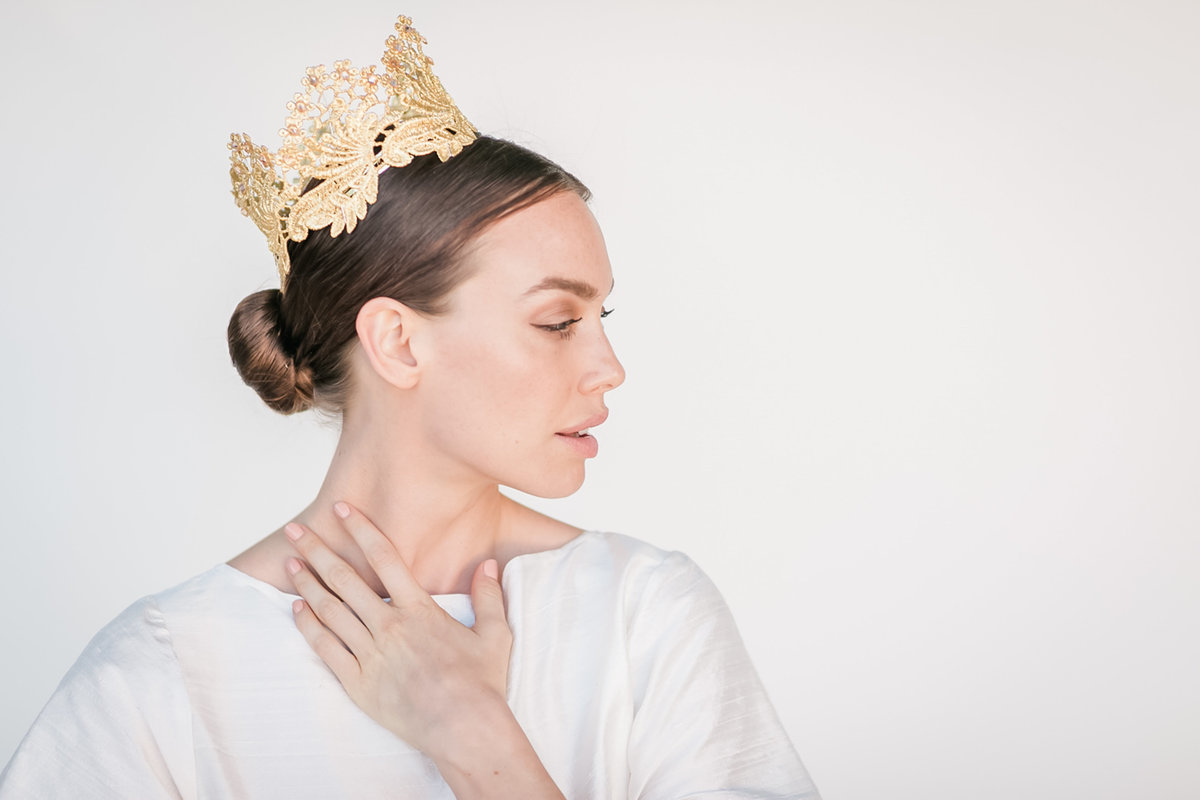 Bridal Crown Editorial Shoot Trace Henningsen Accessories_Valorie Darling Photography-1-10