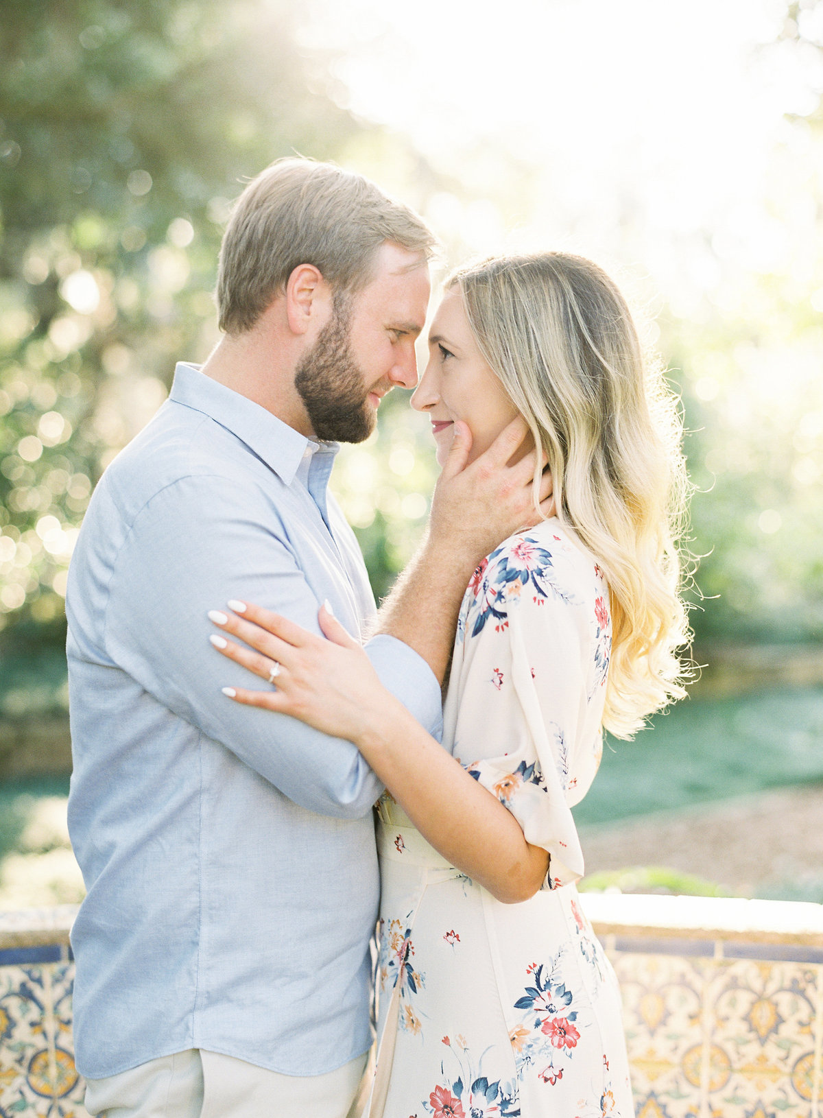 Bok_Tower_Garden_Film_Fine_Art_Engagement_Session-29