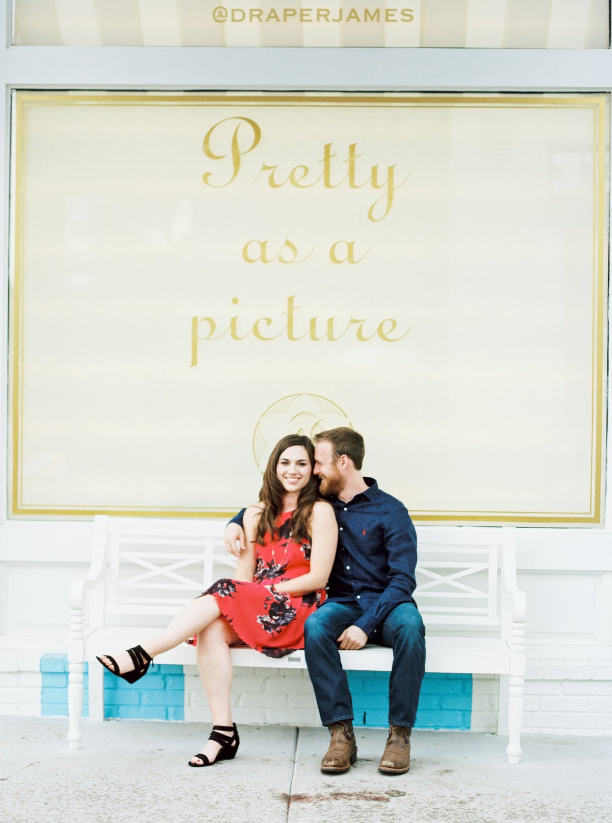 Nashville Engagement session at Draper James