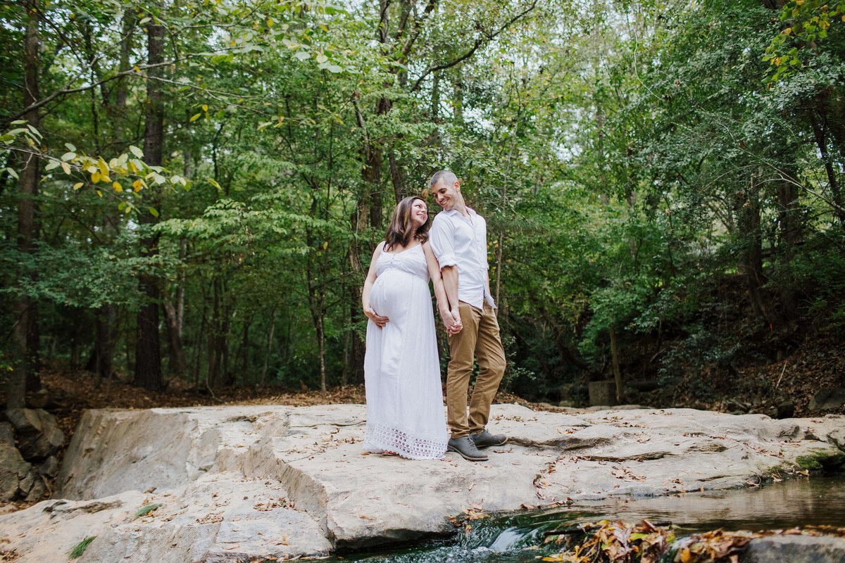 Athens, Georgia maternity session