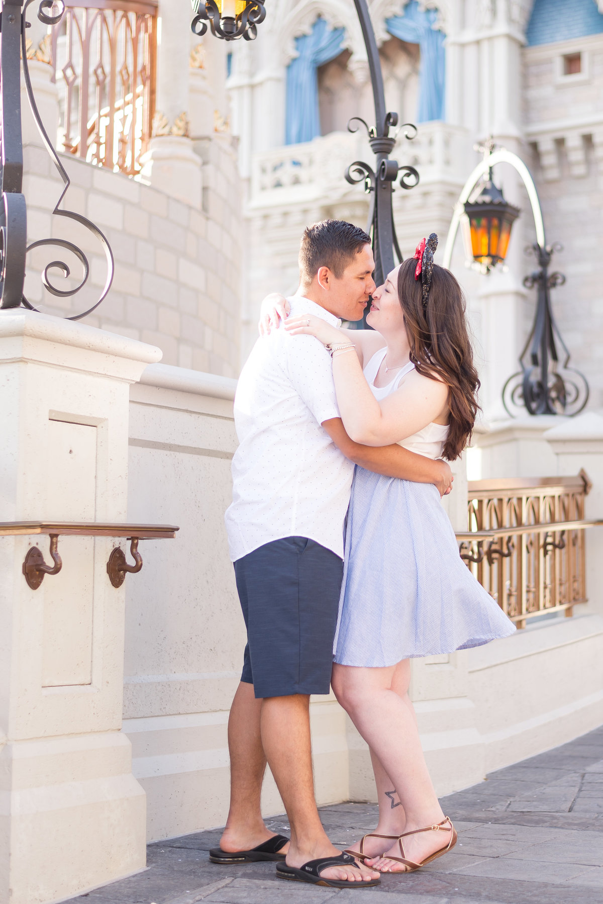 Magic Kingdom Engagement Session