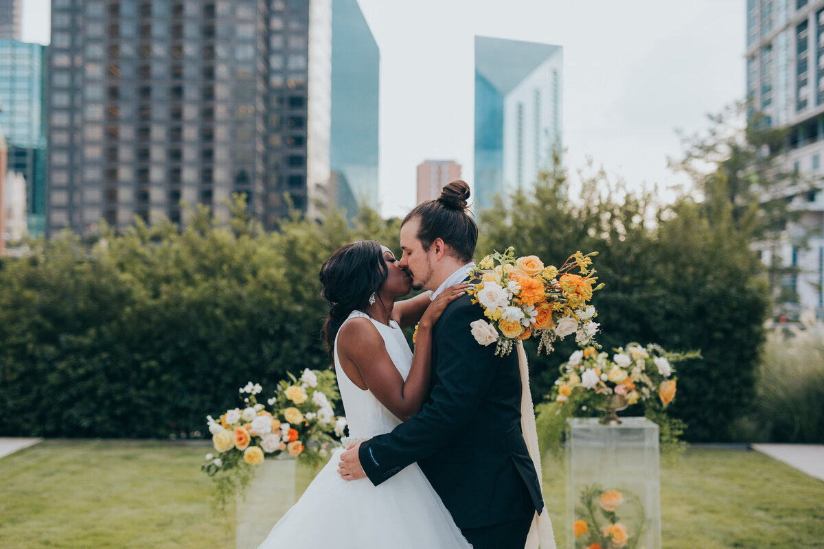 The Artisan Downtown Dallas Nimbus Events Wedding Planning Fall Ceremony