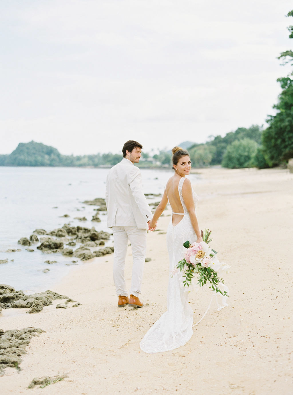 Thailand Wedding Venues Destination Koh Yao Noi By Fine Art Film Wedding Photographer Sheri McMahon-00041