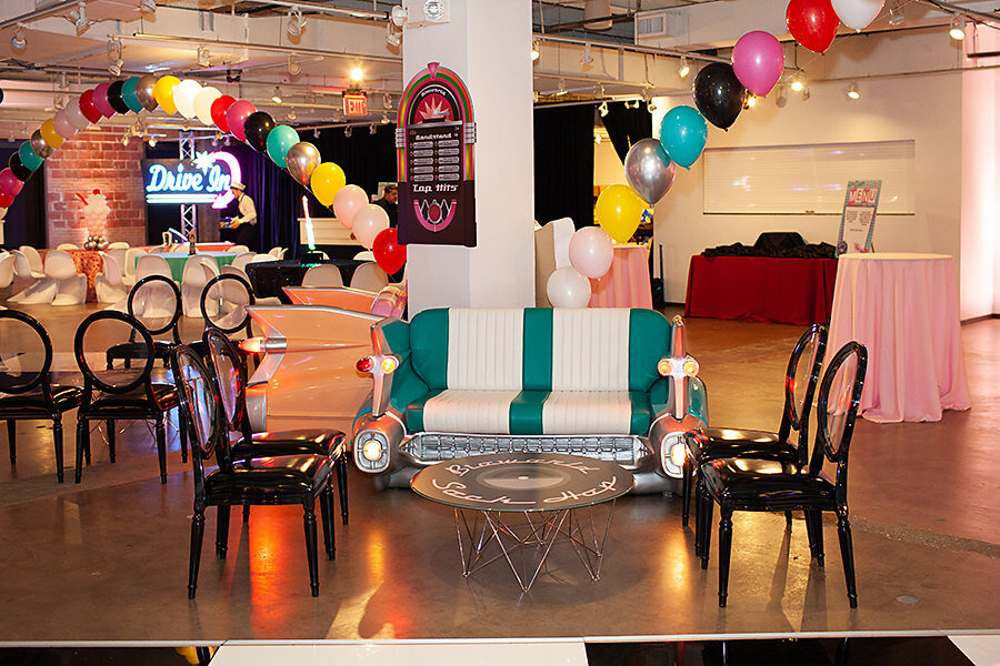 Pop Parties Corporate Event Planner Sock Hop Theme Party 1