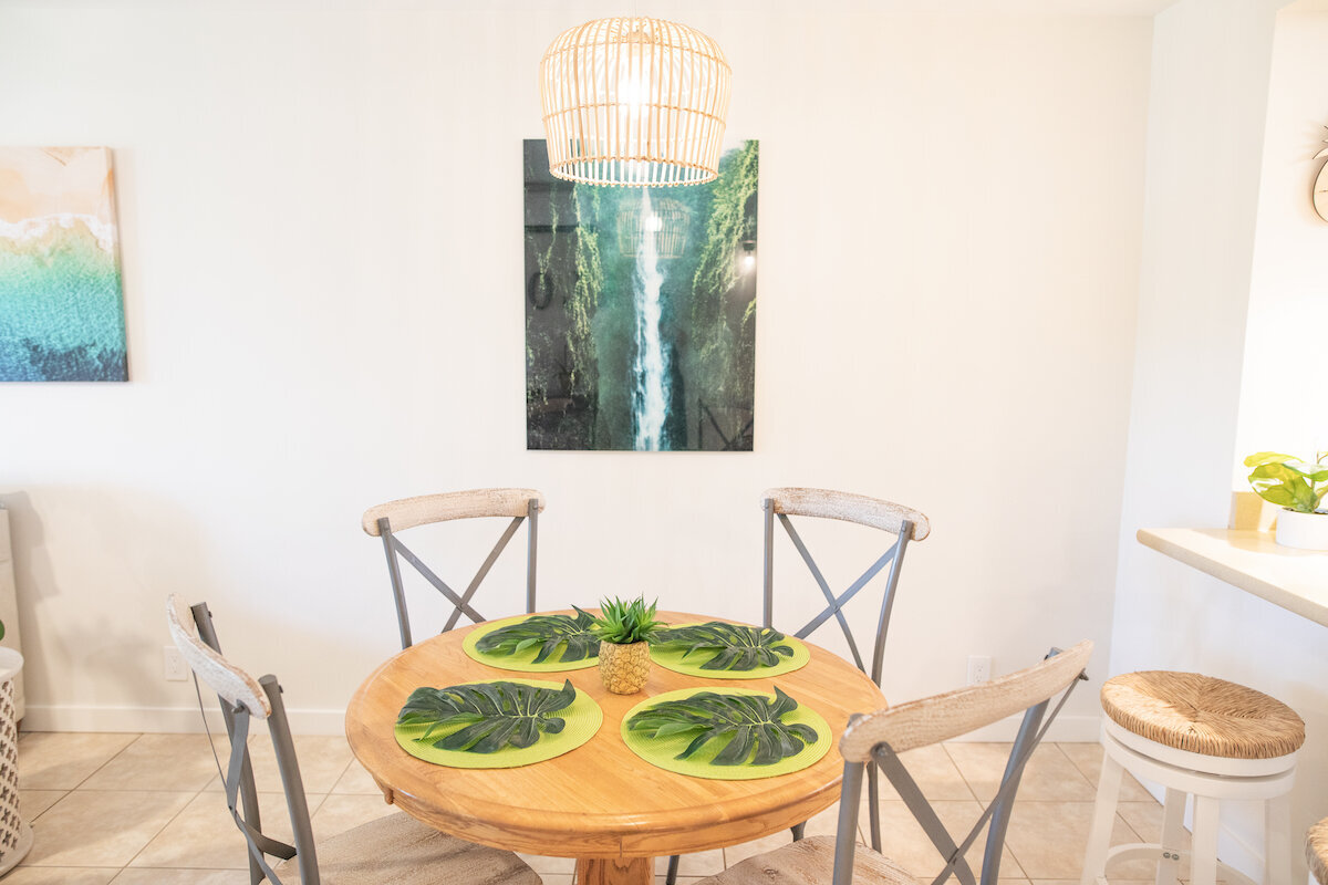 Maui Real Estate Photography - dining room