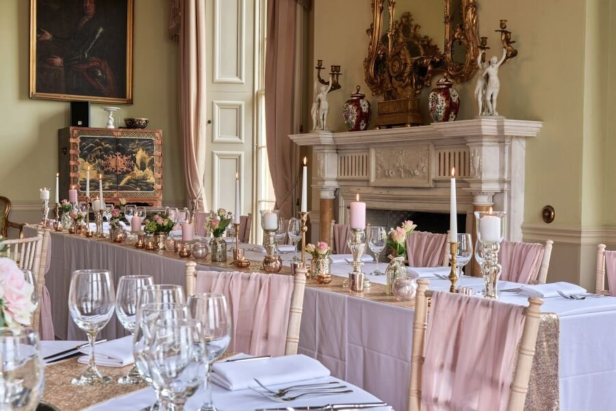 Dusky pink and gold wedding Prestwold Hall sm(9)
