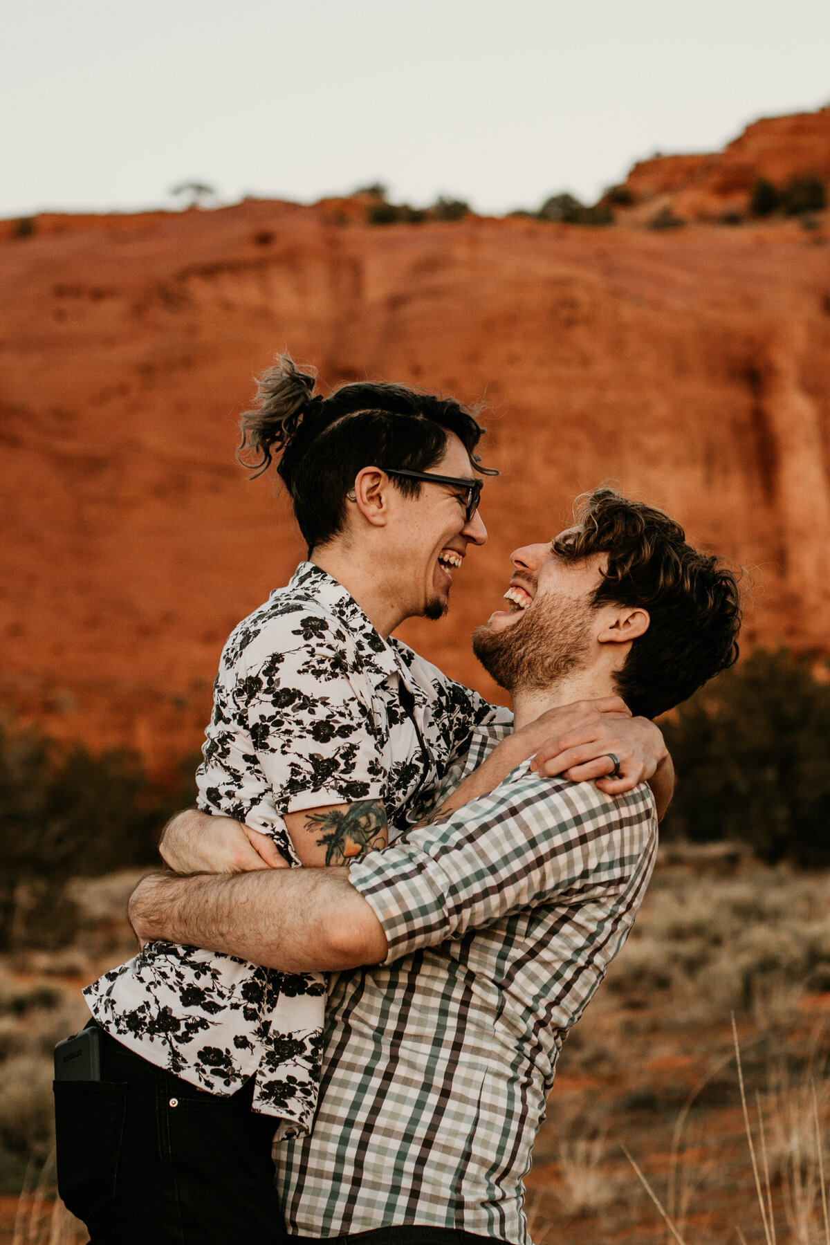 Red-Rock-Same-Sex-Couple-LGBTQ-Engagement-Photos-16
