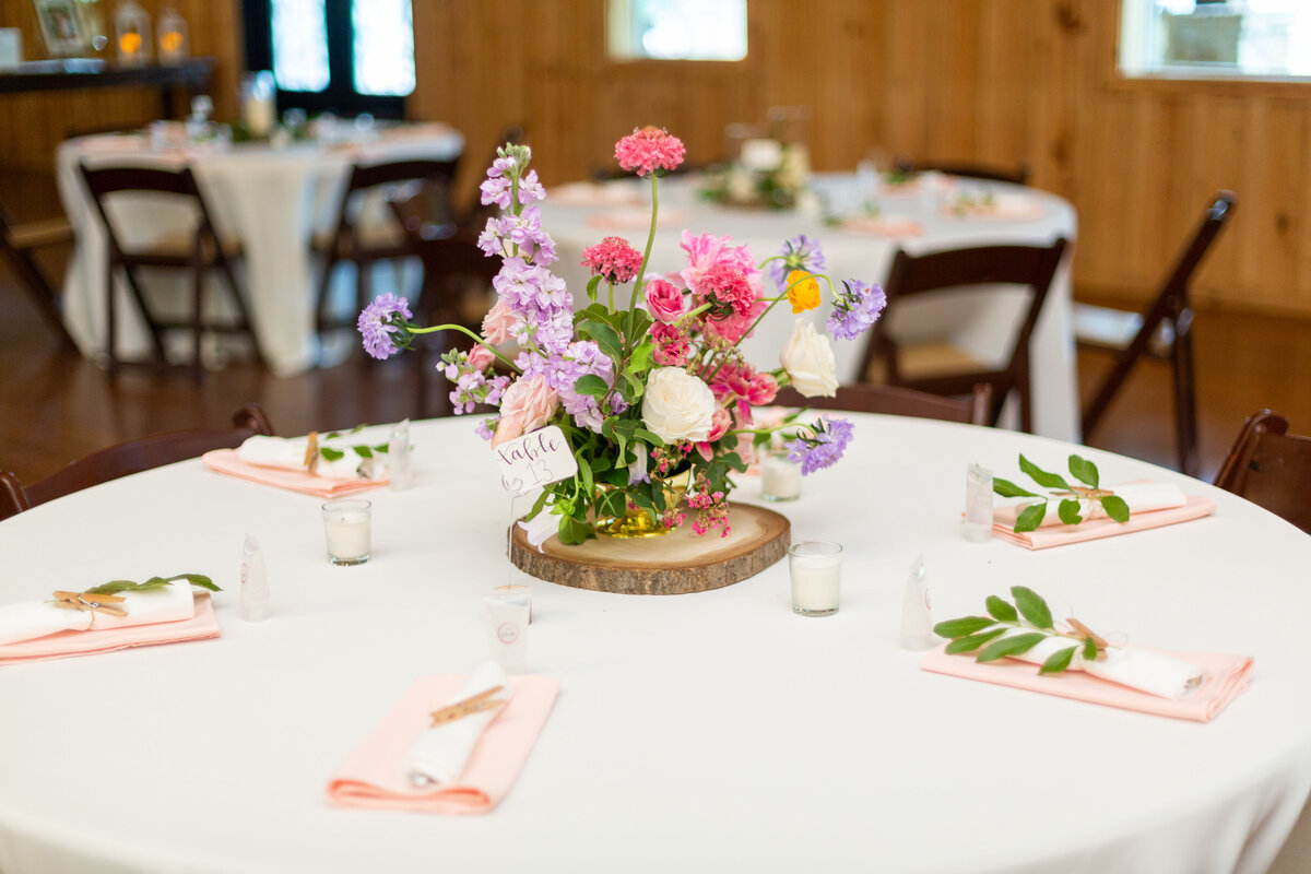 Spring Floral Table Decor at the Springs