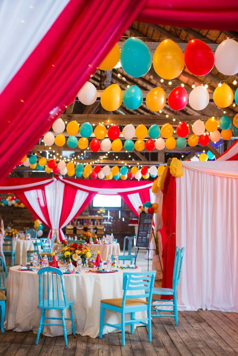 Circus Themed 1st Birthday Indianapolis Party Planner_0090