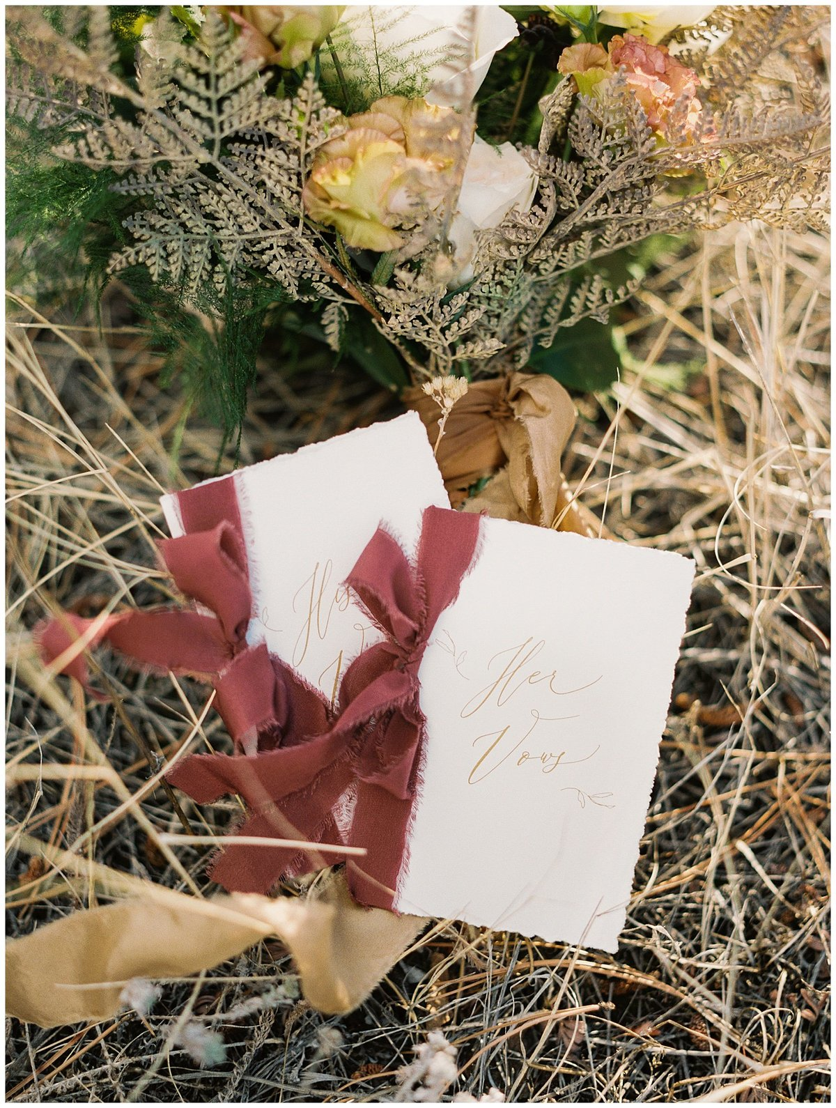 Rocky Mountain National Park Vow Renewal Beautifully Noted Vow Books