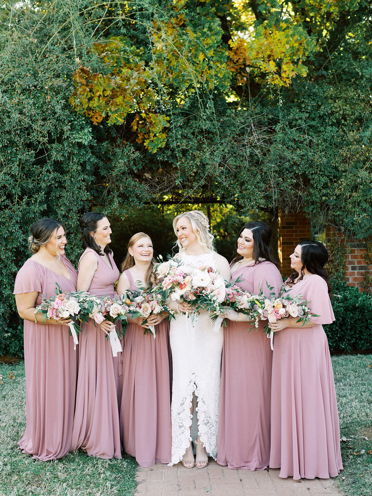 Romantic Garden Party at Clark Gardens Dallas Wedding (12)