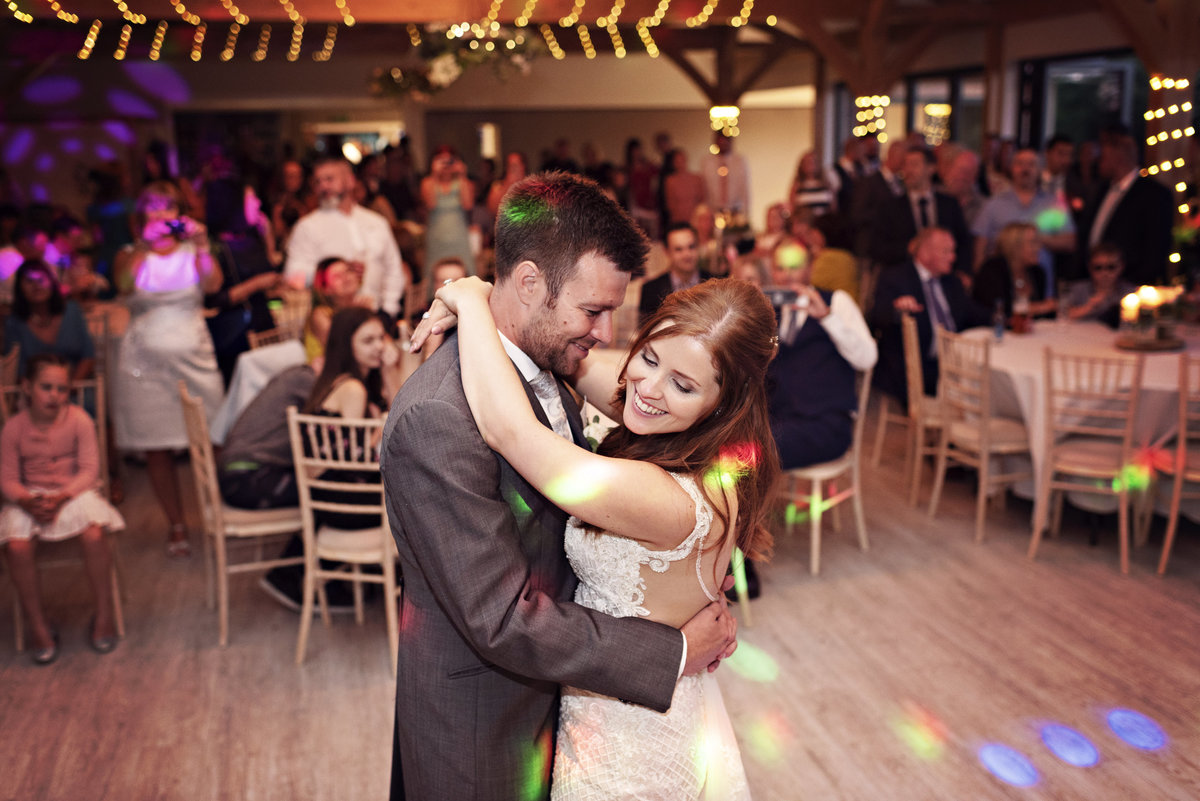 First Dance at Pryors Hayes