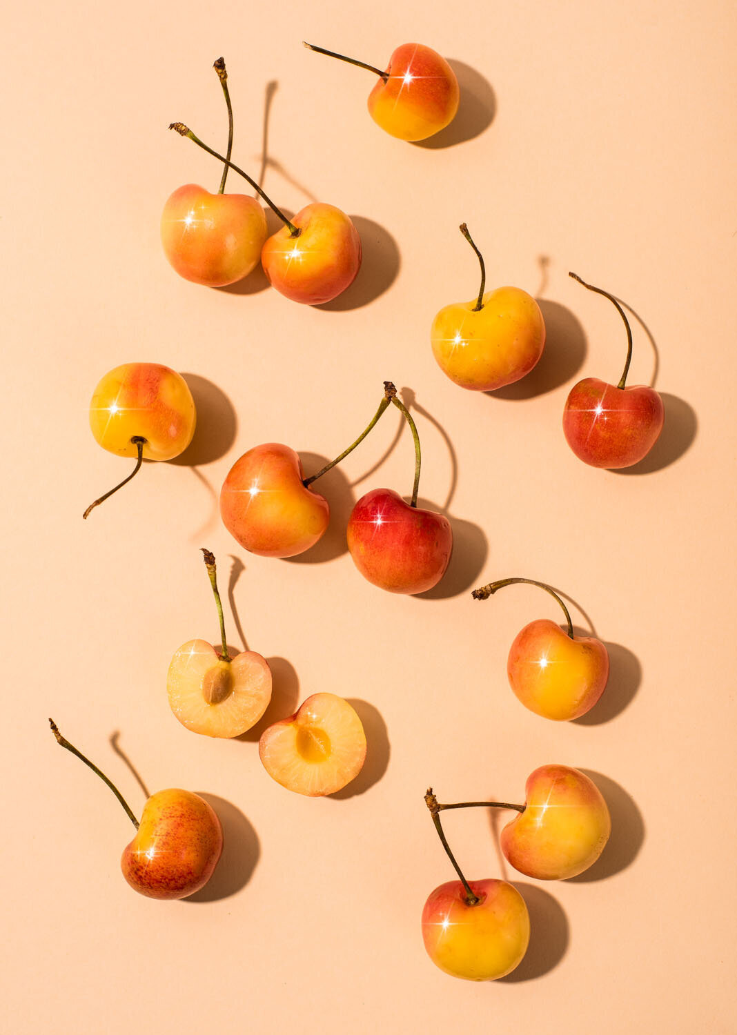 rainer cherries from whole foods market