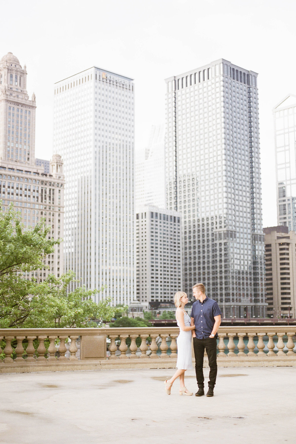 Chicago Wedding Photographer - Fine Art Film Photographer - Sarah Sunstrom - Sam + Morgan - Engagement Session - 13