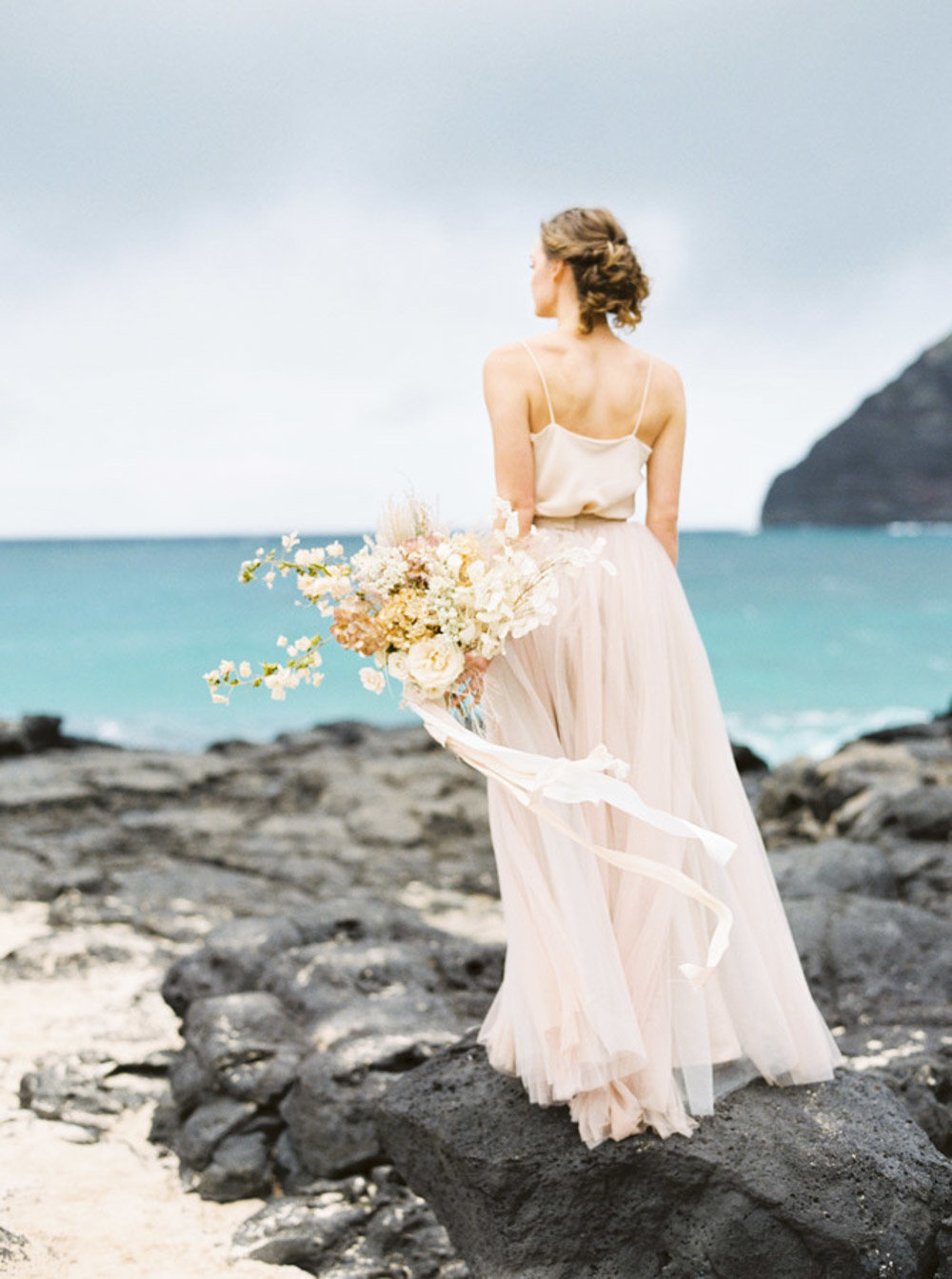 Hawaii Destination Wedding Photographer Sheri McMahon - Hawaii Beach Elopement-00020