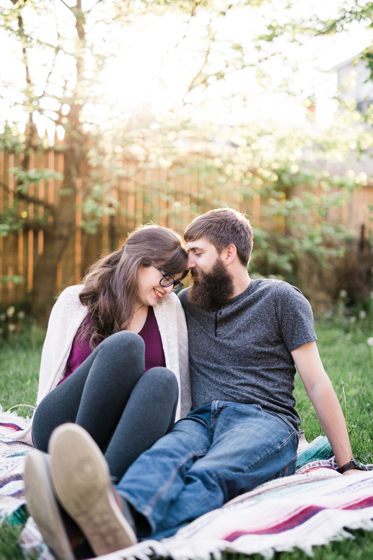 York city photographer - home engagement session