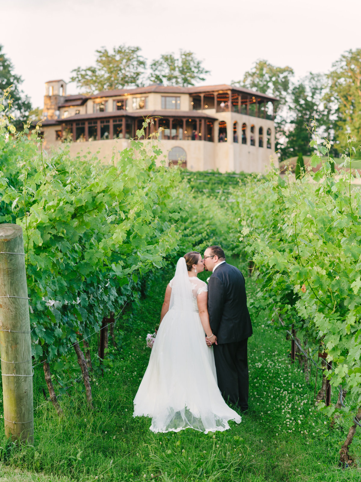 Montaluce Winery Wedding Portrait