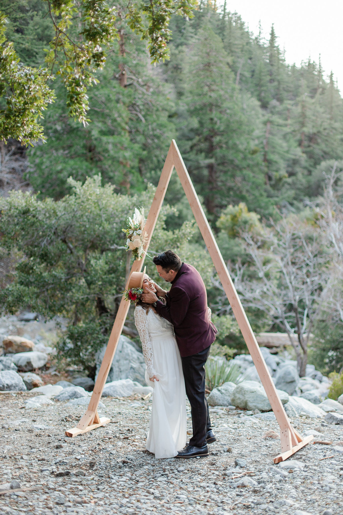 Mt. Baldy Elopement, Mt. Baldy Styled Shoot, Mt. Baldy Wedding, Forest Elopement, Forest Wedding, Boho Wedding, Boho Elopement, Mt. Baldy Boho, Forest Boho, Woodland Boho-45