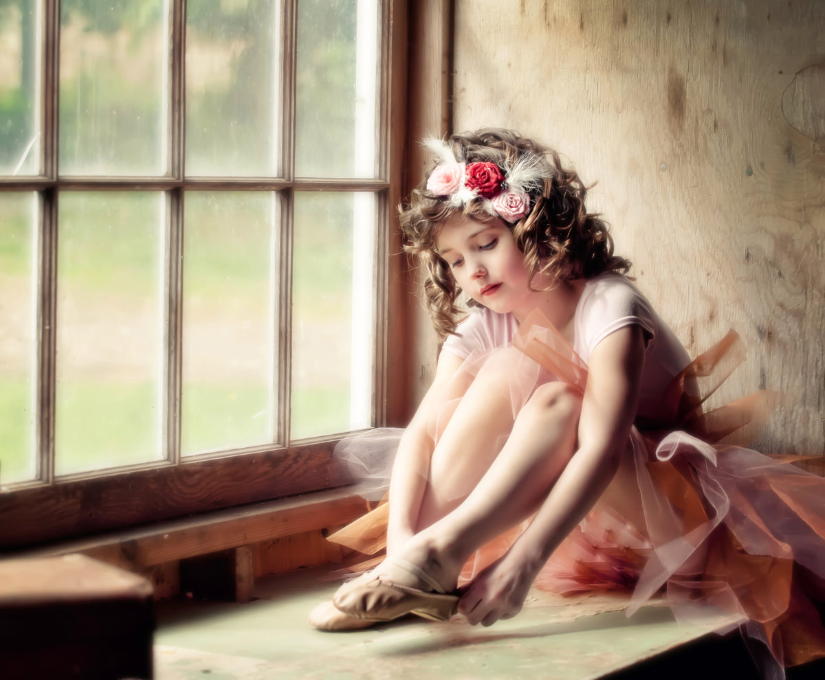 Fine Art Childlren's photography-ballerina