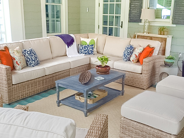 Outdoor Space with Sutton Place Interior Design Furniture