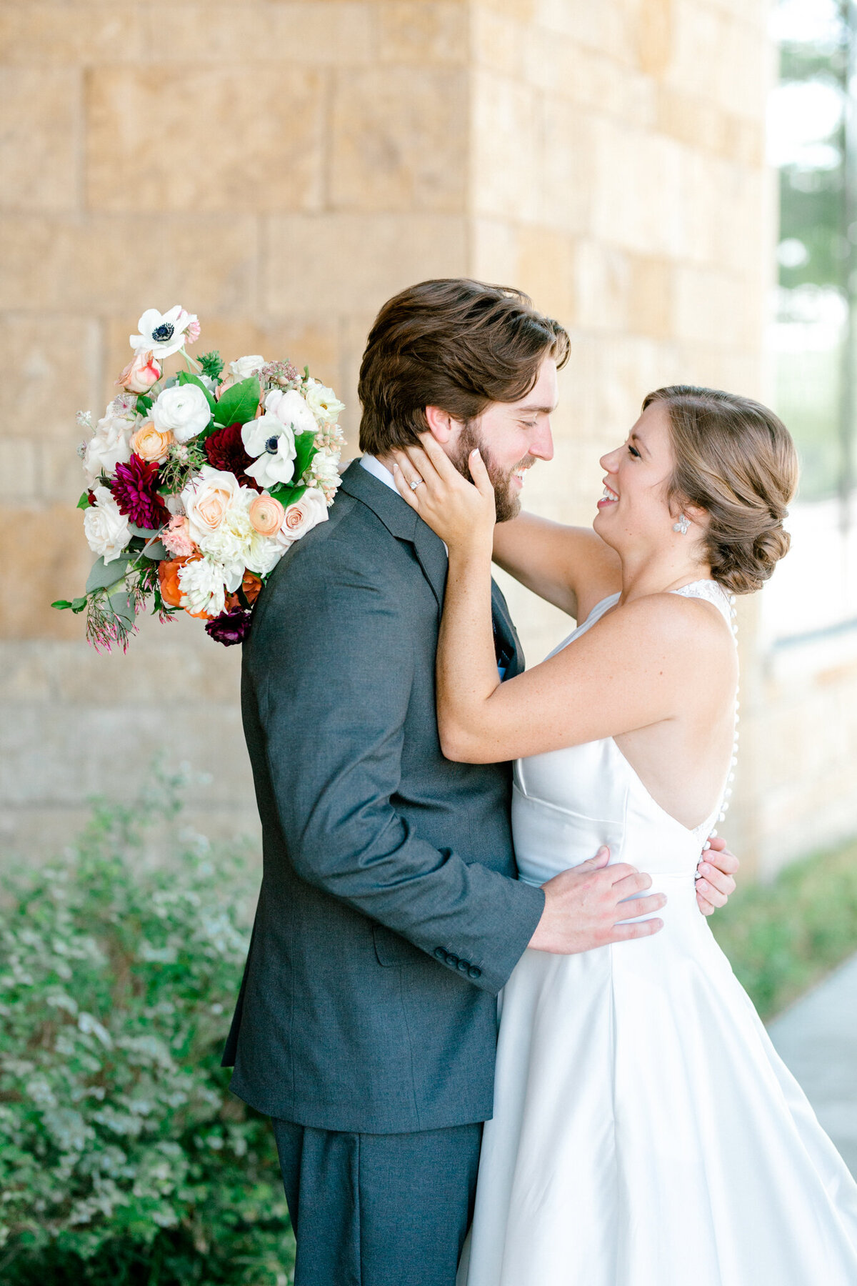 Kaylee & Michael's Wedding at Watermark Community Church | Dallas Wedding Photographer | Sami Kathryn Photography-50