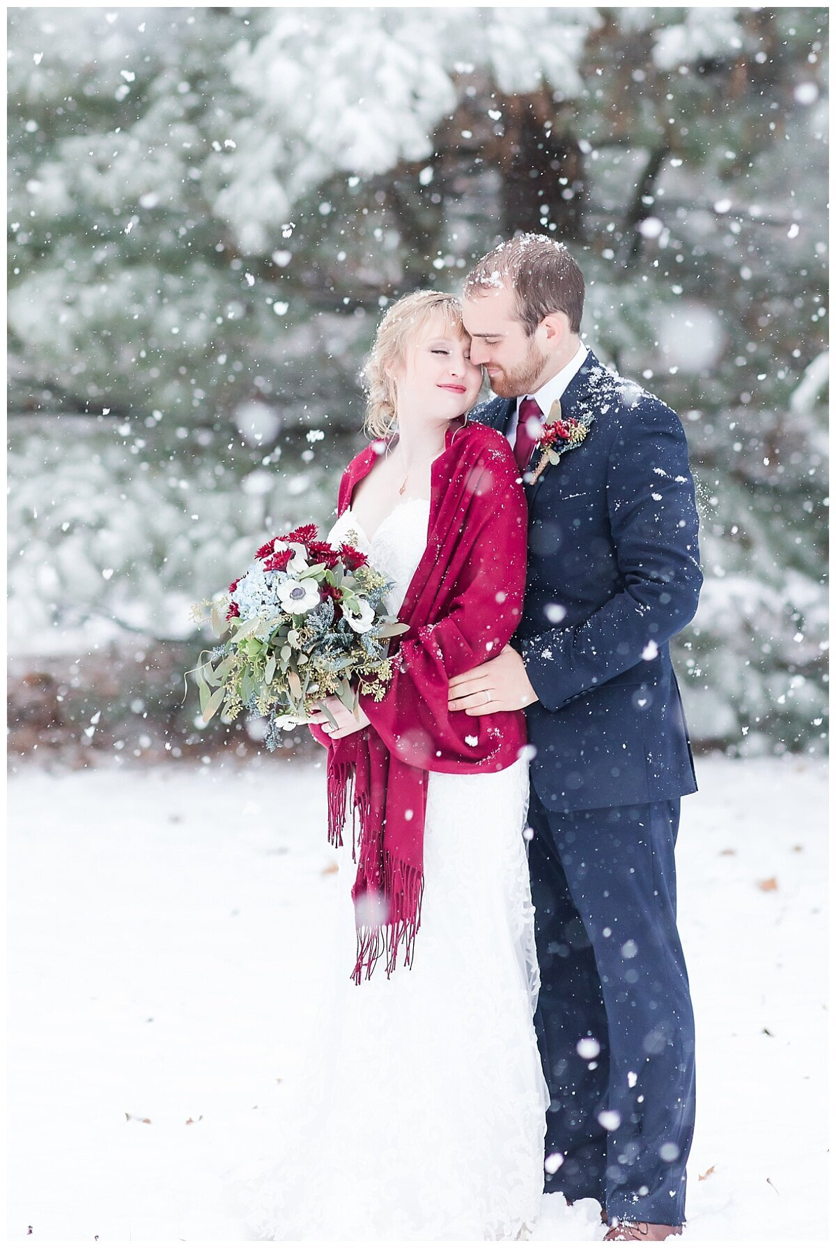 Magical Winter Wedding photo by Simply Seeking Photography_1205